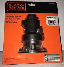 BLACK+DECKER BDCMTR Matrix Router Attachment
