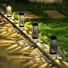 2Pcs Waterproof Solar LED Lawn Light Decor Garden Yard Pathway Landscape Lamps