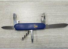 Victorinox Rostfrei Blue 2-Blade Multi-Tool Folding Pocket Knife EDC [A]