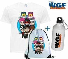 Kit T-shirt + Zainetto + Borraccia - TEAM WGF Lyon Youtuber - WhenGamersFail