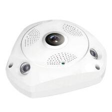 360°Panoramic Fisheye IP Camera Wifi Security Surveillance Camera VR3D Cam WS1SC