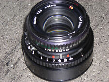 Hasselblad Carl Zeiss Planar C 80mm f/2.8 T* long 51,7mm obturateur syncro-compu