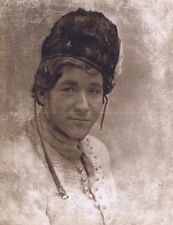 "Hendrickson Original Photo Sepia PORTRAIT OF RUSSIAN SOLDIER 10x13"""