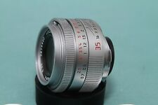 Leica Summicron-M 35mm f2 ASPH lens Chrome