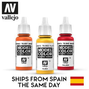 Pintura acrílica Vallejo Model Color 17 mL - Elige color / Choose color