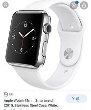 Apple Watch 42mm 2015 White sport band