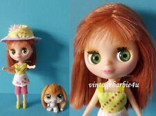 "Littlest Pet Shop Blythe Doll Pet Lot ""Outdoor Adventure"" #185 Bunny Floppy Ears"