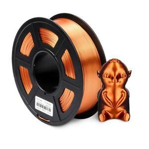 Filament Silk PLA 1.75mm 1kg 3D Printer Texture Plastic +-0.02 Printing Material