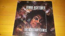 Donna Hightower – este mundo de hoy es un desastre 1972 SPAIN LP Puerta Plegable