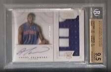 Andre Drummond 12/13 National Treasures Auto Rookie #159 SN #51/199 BGS 9.5/10