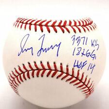 GREG MADDUX HOF 14, 3371 KS, 18X GG STAT SIGNED MLB HOLO AUTHENTIC BASEBALL