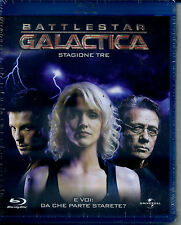 Blu-ray Battlestar Galactica Stagione 03 Edward James Olmos Universal Pictures