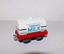 '03 Tidmouth Milk Tanker Car Thomas Train Tank Engine Die-cast Take n Play Along