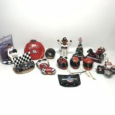 Lot Of 13 Dale Earnhardt and Jr #8 #3 Christmas Ornaments NASCAR 8 Figure