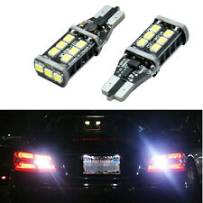 2 X T15 W16W 921 LED CANBUS Extreme CREE 3535 Chip LED High Power Light Bulbs G2