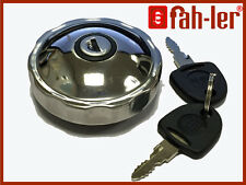Fahler Polished STAINLESS STEEL Fuel Petrol Locking Cap For BMW 1602 1802 2002