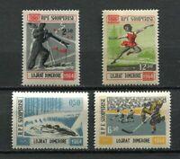 26948) Albanien 1964 MNH Olympic Winter Games 4v