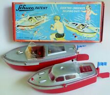 "Schuco Speedboat Elektro Ingenico Delfino 5411 Remote Controller 9"" & 11"" Box"