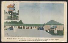 Postcard LONDON Ontario/CANADA  Margaret Motel Motor Court view 1940's