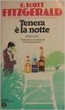 Tenera E' La Notte,Fitzgerald F. Scott  ,Oscar Mondadori ,1986