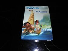 DISNEY MOANA 32 VALENTINE'S DAY CARDS WITH 8 EPIC DESIGNS~~NEW!!! FREE SHIPPING!