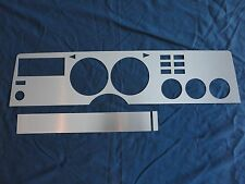 1975-78 Mustang II Brushed Aluminum Dash Insert Kit, New