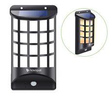 Outdoor Solar Wall Light Pir Motion Sensor Wireless Security Light Garden Porch