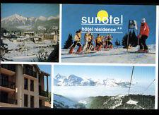 """LES CARROZ D'ARACHES  (74) HOTEL """"SUNOTEL"""" & MONITEUR de SKI en 1991"""
