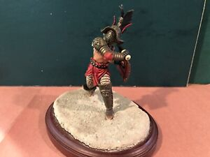 An Extremely Fine Roman Gladiator. 80mm Metal Model.