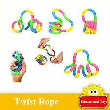 New Tangle Relax Therapy Fiddle Fidget Stress ADHD Autism SEN Sensory Toy 2017