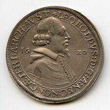 AUSTRIA 1620 KING LEOPOLD THALER NICE TONED CHOICE XF.