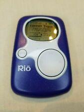 Vintage Rio S10 Mp3 Player Sonic Blue