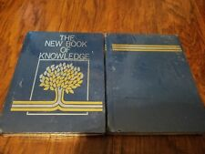 The New Book of Knowledge Encyclopedia Vol 1 and 2 Like new