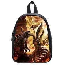 Custom New Backpack Godzilla Kid's School Bag(Large)