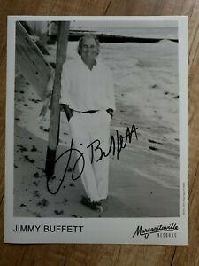 Jimmy Buffett (Country) - Handsigniertes Großfoto (Original)