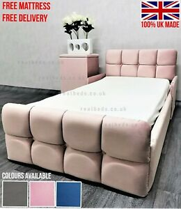 Luxury Plush Velvet Toddler Bed - FREE MATTRESS + FREE DELIVERY!