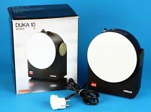 Osram Duka 10 Studio Dunkelkammerlampe Fotolabor Leuchte mint condition 13138
