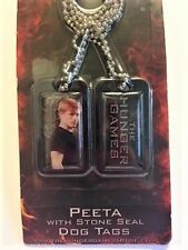 The Hunger Games (PEETA And Stone Seal) Dog Tags - BRAND NEW IN PACKAGE!!