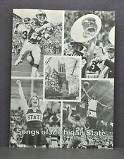 Vintage 1957 Songs Of Michigan State University MSU Sheet Music Book