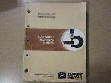 John Deere Niehoff Nippondenso Veleo Iskra Bosch Motorola service & tech manual