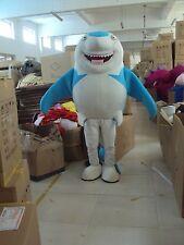 New blue Shark Mascot Costume Fancy Dress Adult Suit Size R191