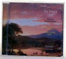 Von Ewiger Liebe - Songs of Johannes Brahms / Michael-Evans(CD, 2000, Erasmus)