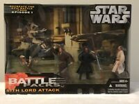 STAR WARS Sith Lord Attack Battle Pack 2006 Darth Maul Battle Droids Obi-Wan