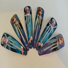 NEW 6 x Frozen Elsa Anna Hair Clips Kids Girls Accessories Accessory Hair Slide