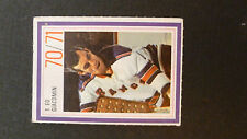 ED GIACOMIN RANGERS NEW YORK STAMPS TIMBRES ESSO POWER PLAYERS 1970 1971 GOALER