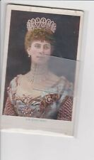 "Her Majesty Queen Mary ""Bas-Relief"" Style Postcard Unbacked & Unposted c1905"