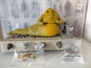 Vintage star wars figure Jabba the Hutt playset 1983 100% complete near mint!!