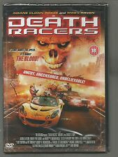 DEATH RACERS - Insane Clown Posse & WWE's Raven - UK R2 DVD - sealed/new