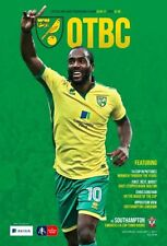Norwich City FA Cup Home Teams L-N Football Programmes