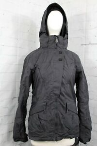 686 Smarty Sync 3-in-1 Insulated Snowboard Jacket Womens Medium Black New